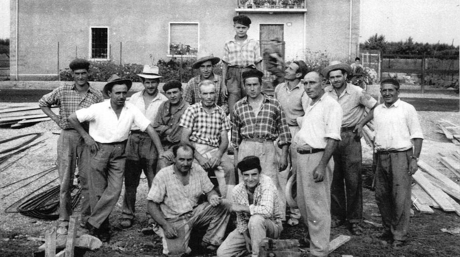 Stazione Roverbella gruppo 1961